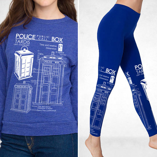 TARDIS Blueprint Fashion
