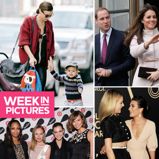 The Week in Pictures: Kate & Wills, Miranda & Flynn, Kate Bosworth, Diane & More!