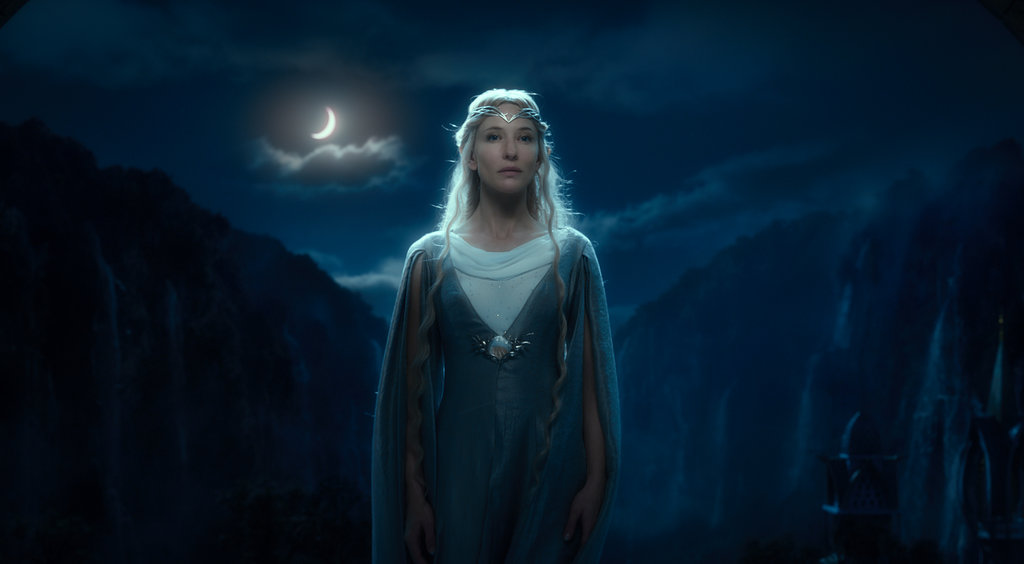Cate Blanchett in The Hobbit: An Unexpected Journey.
