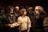 William Kircher, Graham McTavish, Martin Freeman, James Nesbitt, and John Callen in The Hobbit: An Unexpected Journey.