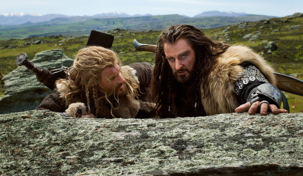 Dean O'Gorman and Richard Armitage in The Hobbit: An Unexpected Journey.