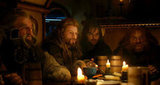 John Callen, Dean O'Gorman, Aiden Turner, and Stephen Hunter in The Hobbit: An Unexpected Journey.