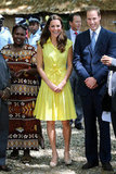 Kate Middleton and Prince William met locals during their September visit to Honiara.