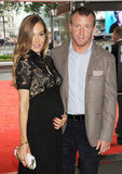 Guy Ritchie and his fiancée, Jacqui Ainsley, added to their family when they had a baby girl in November.