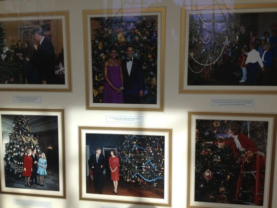 We had a look at pictures of presidents and first ladies in their holiday finest from years past.