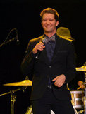 Matthew Morrison performed on stage in LA.
