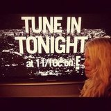 Amanda de Cadenet filled in for Chelsea Handler as the host of Chelsea Lately. Source: Instagram user amandadecadenet
