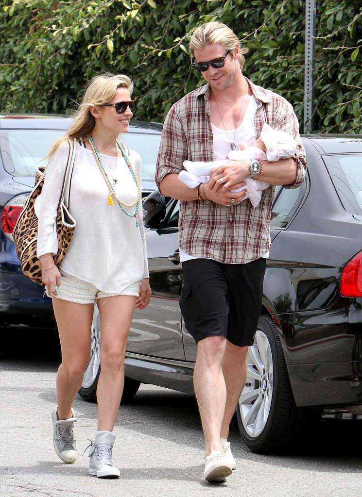 In May, Chris Hemsworth and Elsa Pataky welcomed daughter India Hemsworth.