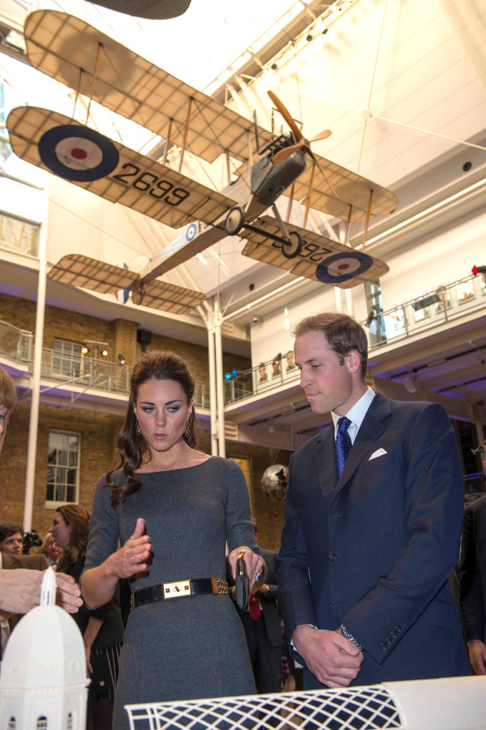 Prince William and Kate Middleton were in London in April celebrating the launch of the Imperial War Museum Foundation's First World War Galleries.
