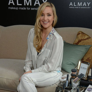 Kate Hudson Launches an Almay Makeup Line in NYC