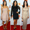 Katy Perry and Zoe Saldana at Trevor Live Benefit 2012