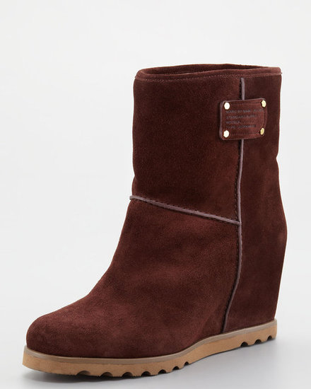 For the days that prove icy, icy cold, we couldn't think of a better way to stay toasty than with these wine-colored Marc by Marc Jacobs warming wedge boots ($320). Faux shearling lining aside, it also comes complete with a lug sole, perfect for braving slick street surfaces.