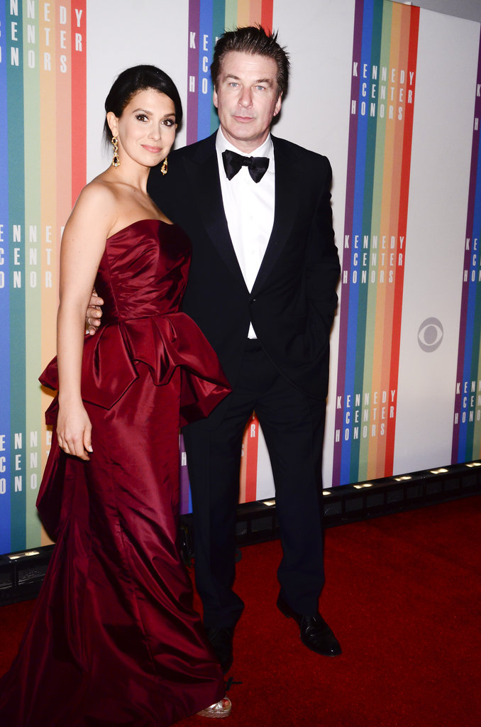 Alec Baldwin and his wife, Hilaria Thomas, made a dashing pair.