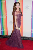 Actress and singer Laura Osnes took to the red carpet.