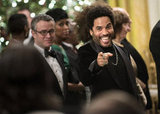 Lenny Kravitz joked around at the Kennedy Center Honors.