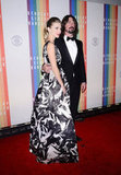 David Grohl attended the Kennedy Center Honors with his wife, Jordyn Blum.