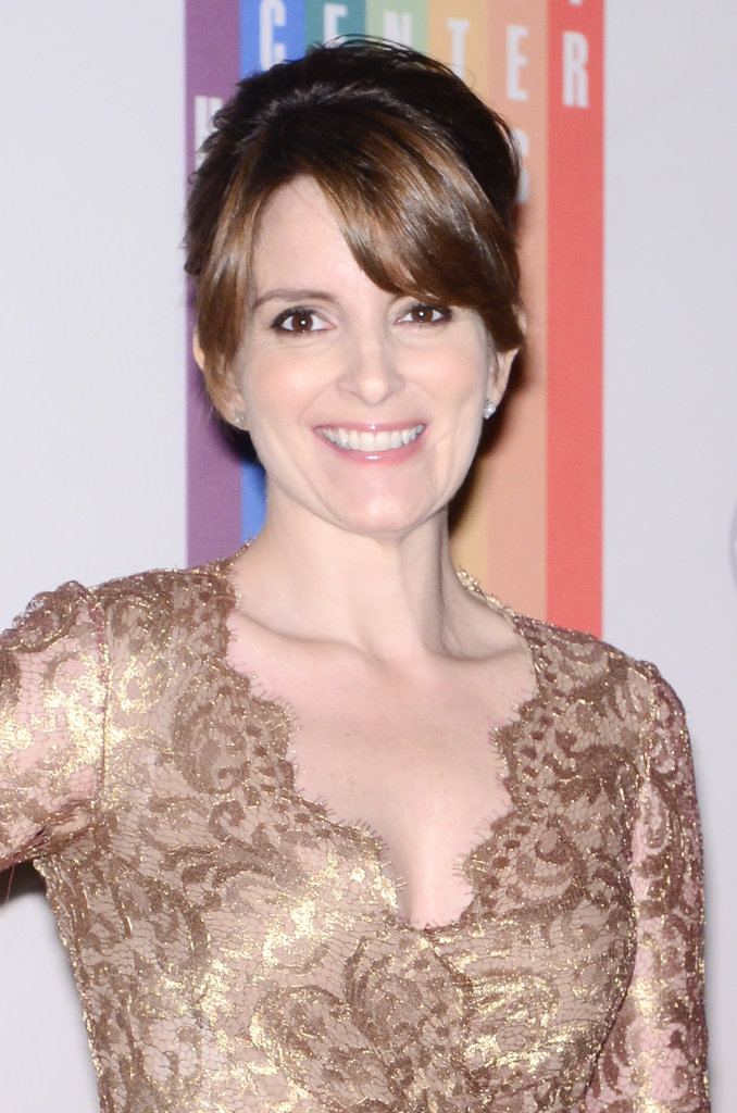 Tina Fey was all smiles.