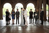 """Blair and Chuck say their own vows, which includes a throwback to an earlier episode: """"Three words. Eight letters."""""""