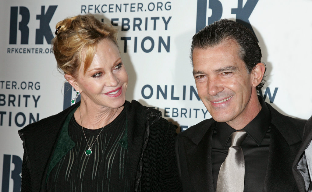 Melanie Griffith and Antonio Banderas attended the Ripple of Hope Gala in NYC.