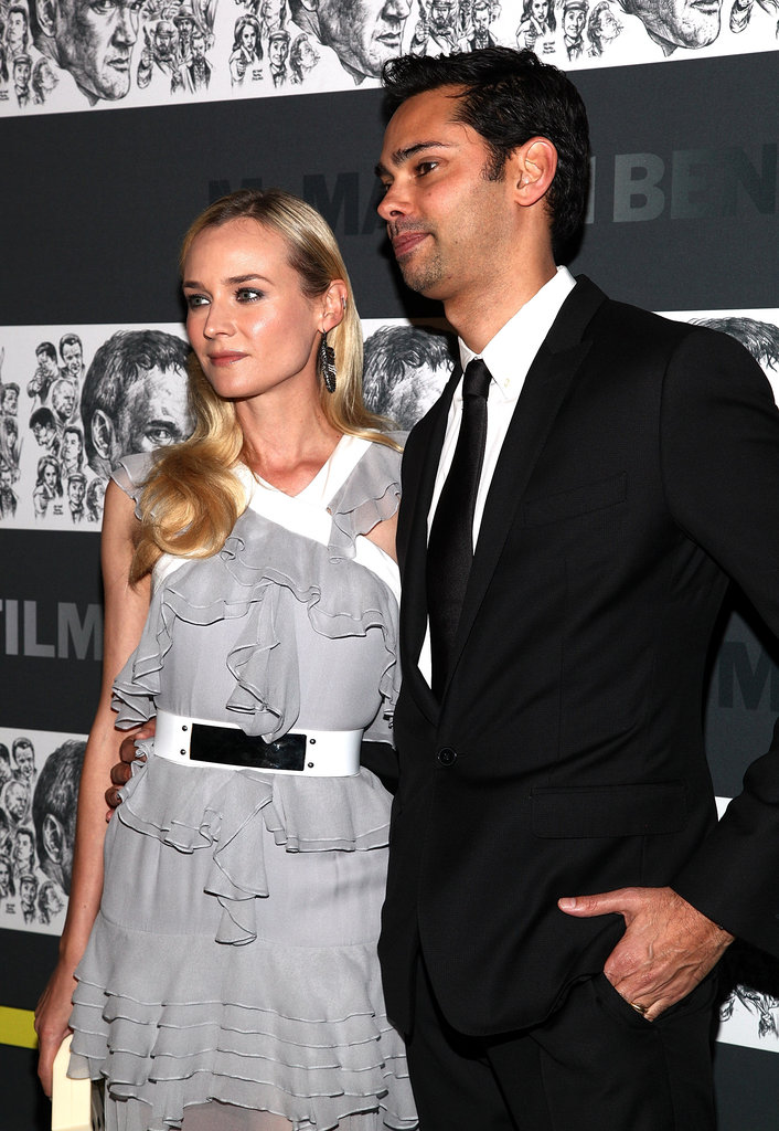 Diane Kruger and Rajendra Roy attended the Museum of Modern Art Film Benefit in NYC.