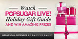 Watch Our LIVE Holiday Gift Guide Show and Win Amazing Prizes — Today!