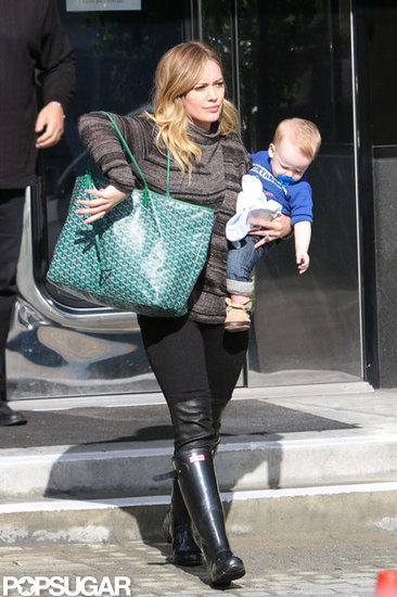 Hilary Duff Breaks Out Her Skinnies For an Outing With Luca