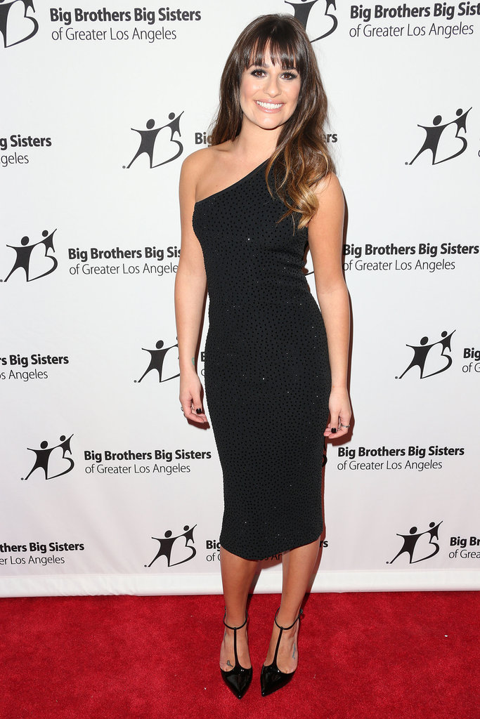 LBD kind of girl? Look to Lea Michele's super-sexy one-shoulder Michael Kors dress for inspiration.