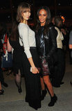 Karlie Kloss and Joan Smalls