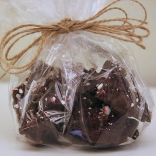 Peppermint Cookies and Cream Chocolate Clusters