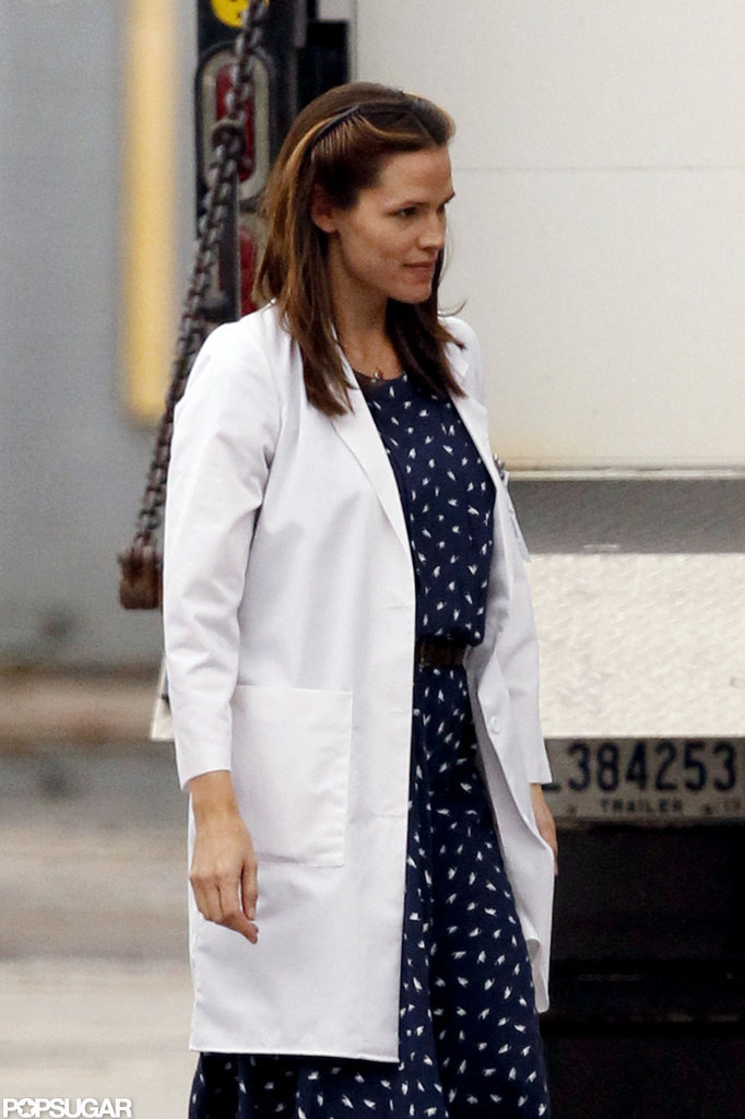 Jennifer Garner was on set in New Orleans.