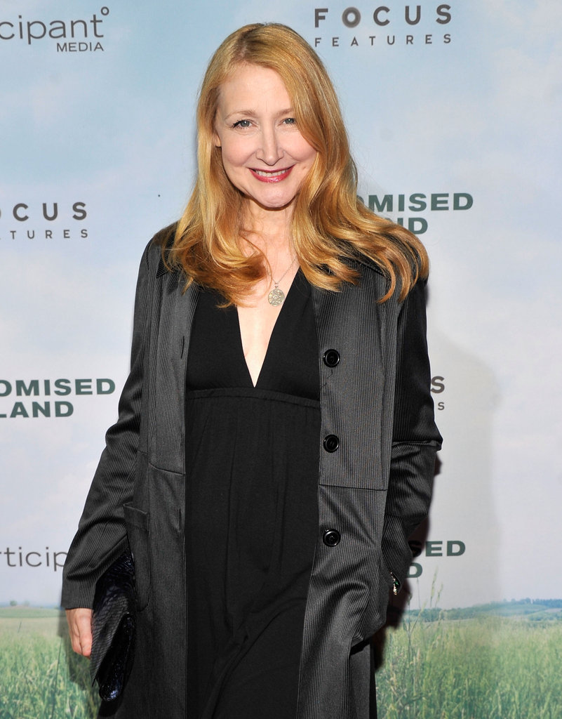 Patricia Clarkson was out in NYC.
