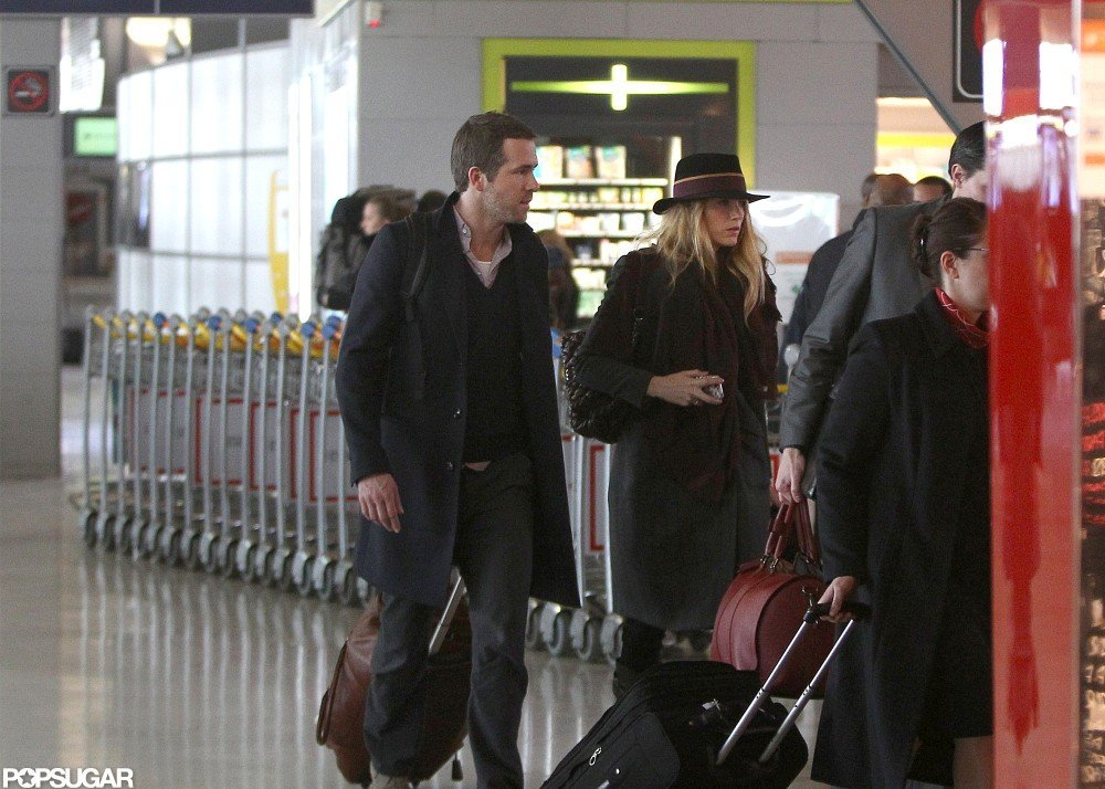 Blake Lively and Ryan Reynolds Wrap Up Their Paris Vacation