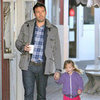 Ben and Seraphina Affleck at the Brentwood Mart | Pictures
