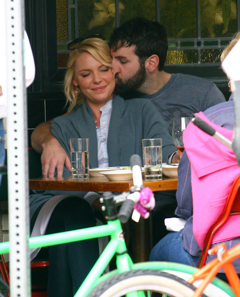In March, Josh Kelley kissed his wife, Katherine Heigl, during their PDA-filled lunch date in LA.