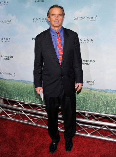 Robert Kennedy Jr. stepped out in NYC to attend the Promised Land  premiere.