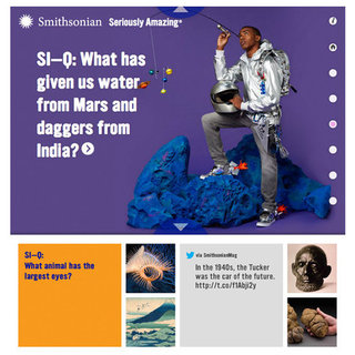 The Smithsonian's Question-and-Answer Website