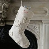 West Elm Snowflake Stocking