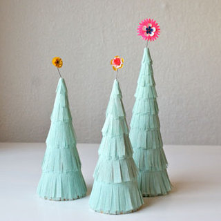 Paper Christmas Tree Crafts For Kids