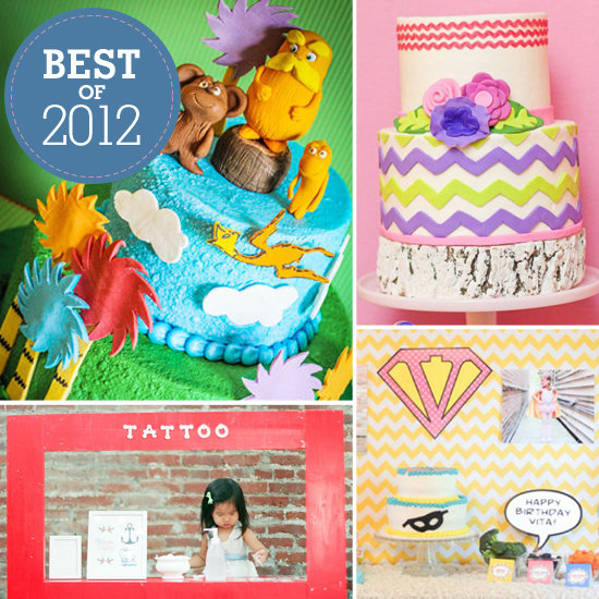 Best of 2012: The 15 Cutest, Most Creative Kids' Birthday Parties