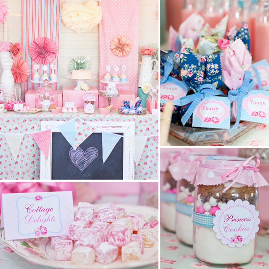 Birthday Parties: A Shabby-Chic Party Fit For a Princess