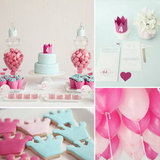 A Modern, Princess-Themed Birthday Party
