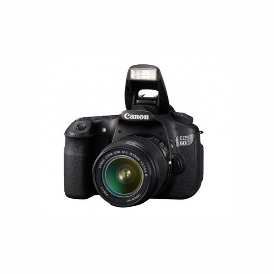 Canon EOS 60D DSLR Single Lens Kit, $993