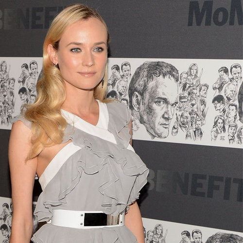 Diane Kruger wears Grey Prabal Gurung to honour Tarantino