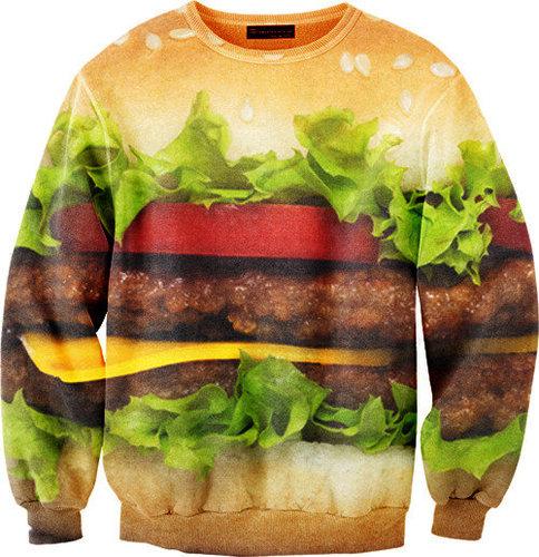 Mr. Gugu & Miss Go Hamburger Sweater