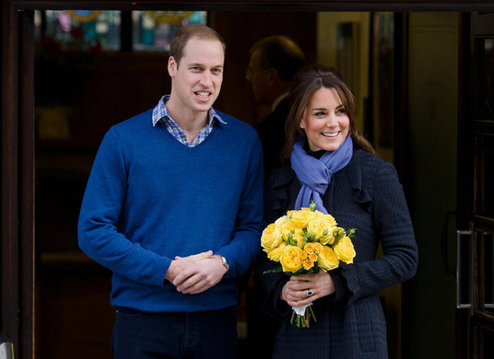 Kate Middleton and Prince William left a London hospital.
