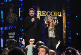 Chris Young and Sheryl Crow were on stage at the Grammy Nominations show in Nashville.