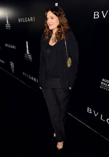 Drew Barrymore stepped out for a Bulgari event.