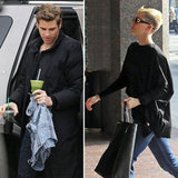 Liam Hemsworth Works on Paranoia While Miley Cyrus Protects Her Pups