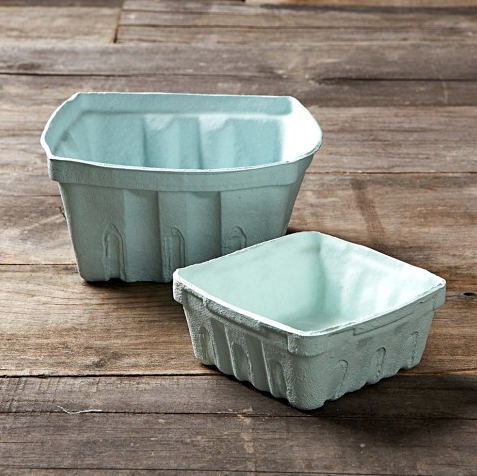 A small Porcelain Berry Basket ($13) is a great gift for those looking to add a bit of country decor to their kitchen.