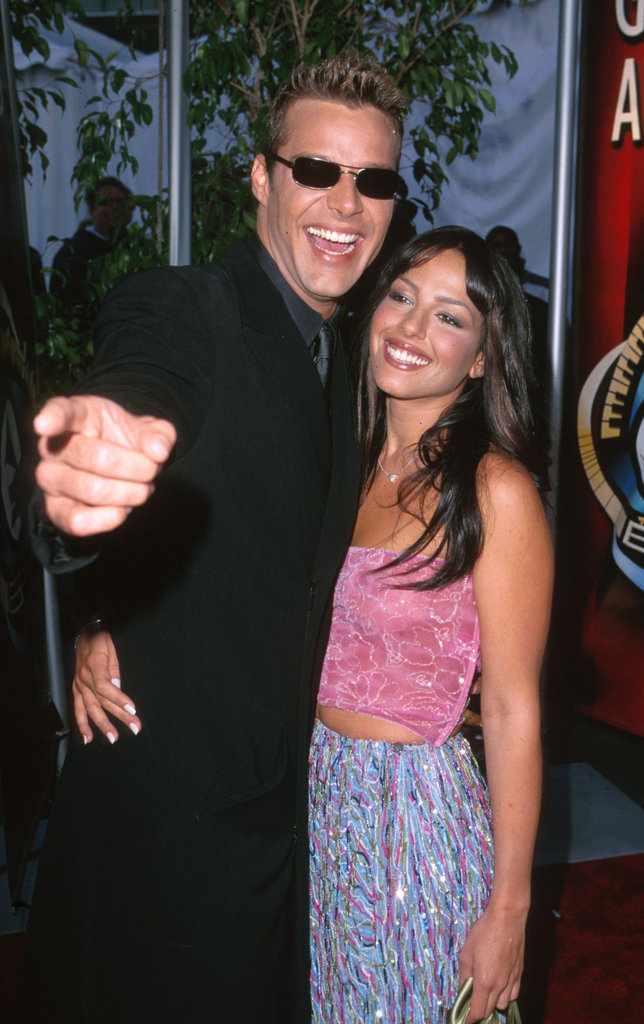 Ricky Martin and Maital Saban, 2000